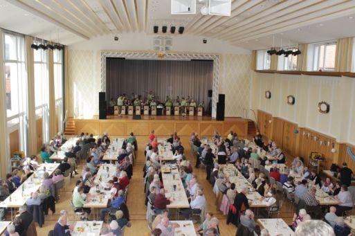 Frühschoppen Staufenhalle Plüderhausen