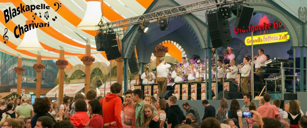 Blaskapelle Charivari auf dem Frühlingsfest