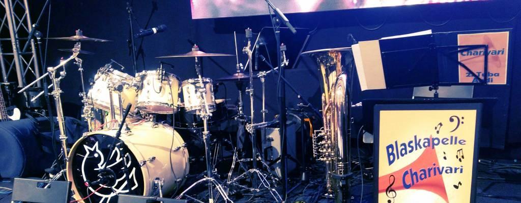 Blaskapelle Charivari – Schlagzeug, Tuba