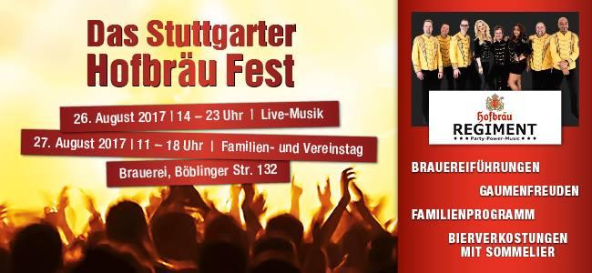 Das Stuttgarter Hofbräu Fest