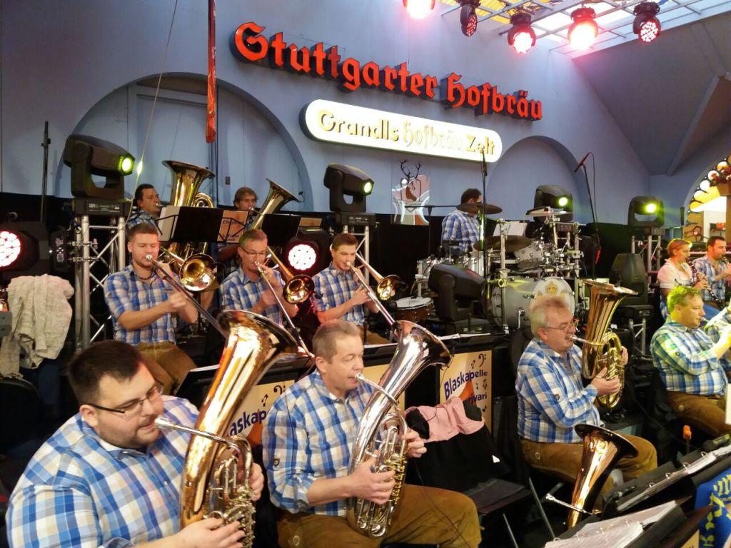 Cannstatter Wasen in Grandls Hofbräuzelt 2017