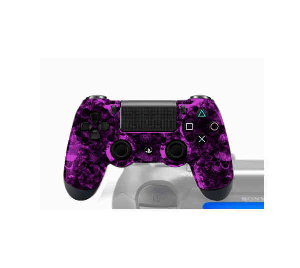 Manette PS4 Personnalise Magma