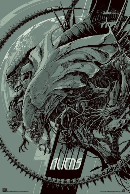 Aliens (Variant) by Ken Taylor