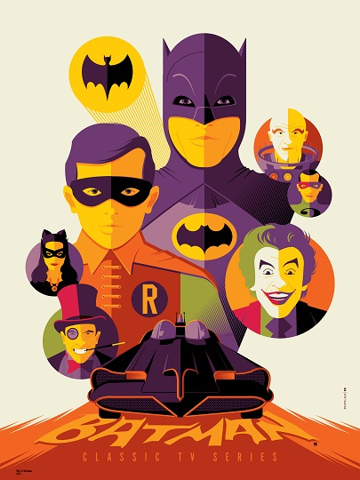 """Batman"" (Variant) by Tom Whalen"