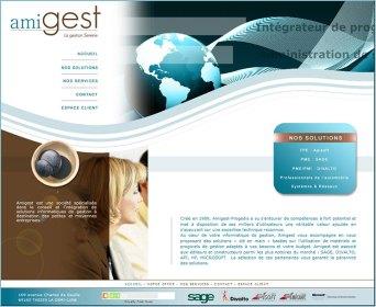 Site de la société AMIGEST