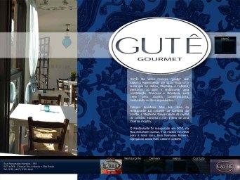 Site du restaurant brésilien GUTE GOURMET