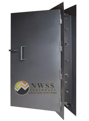 Blast door hatch