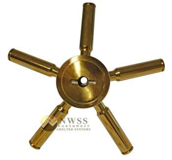 5 spoke vault handle
