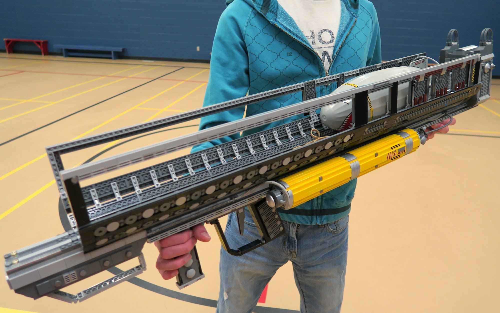 LEGO Blasters In A Nerf Battle No Thanks Blaster Hub