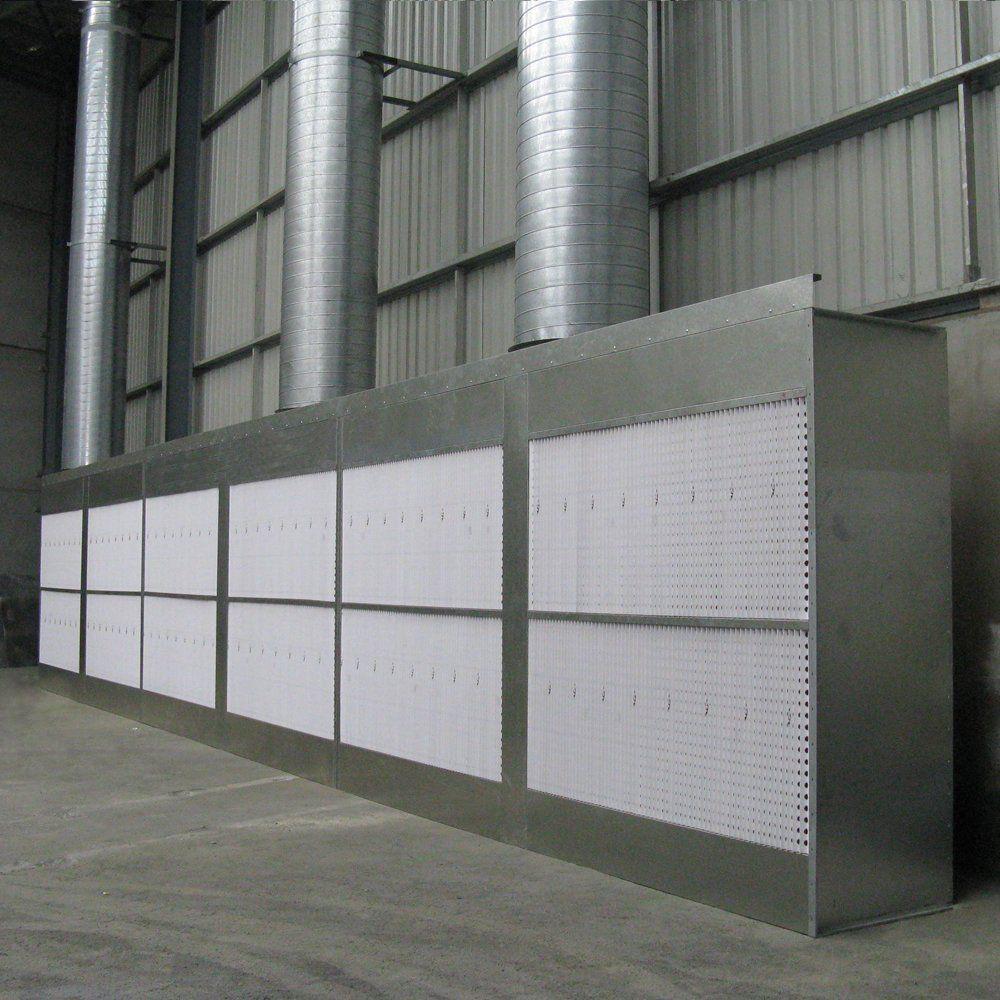 filter walls blast booths spray paint