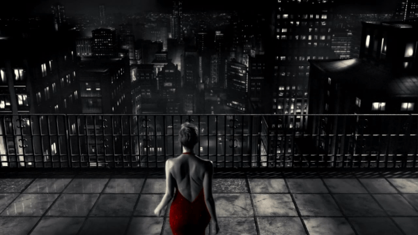 The Girl in the Red dress in Sin City