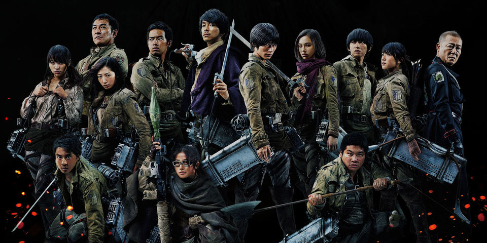 Image result for attack on titan movie live action