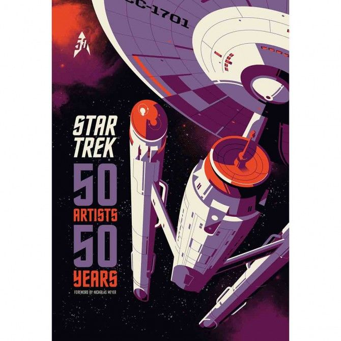 Preview the upcoming Star Trek 50th anniversary art show ...