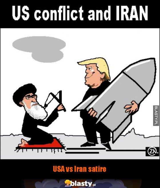 USA vs Iran satire memy, gify i śmieszne obrazki facebook, tapety,  demotywatory zdjęcia