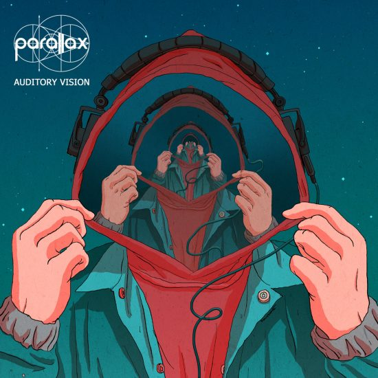auditory vision, parallax