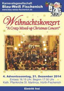 Plakat - Weihnachtskonzert 2014