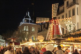 Brühler Weihnachtsmarkt. Bild: Harald Zeyen