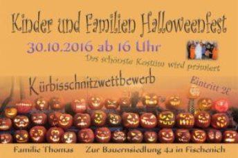 Kinder und Familien Halloweenfest 2016