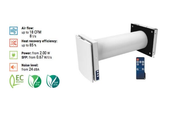 Vento Series Duo A30 1 Single Room Ventilator