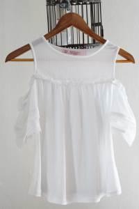weiße Bluse - gekauft