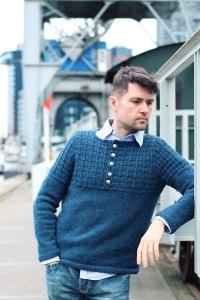 Guston Henley Pullover nach Anleitung von Brooklyn Tweed