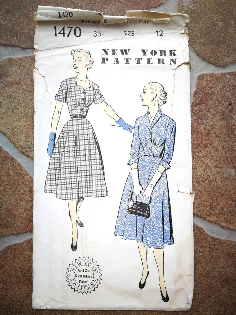 New York Pattern Vintage Pattern