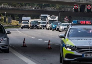 zwei Personen verletzt - Unfall auf der A7 höhe Marmstorf