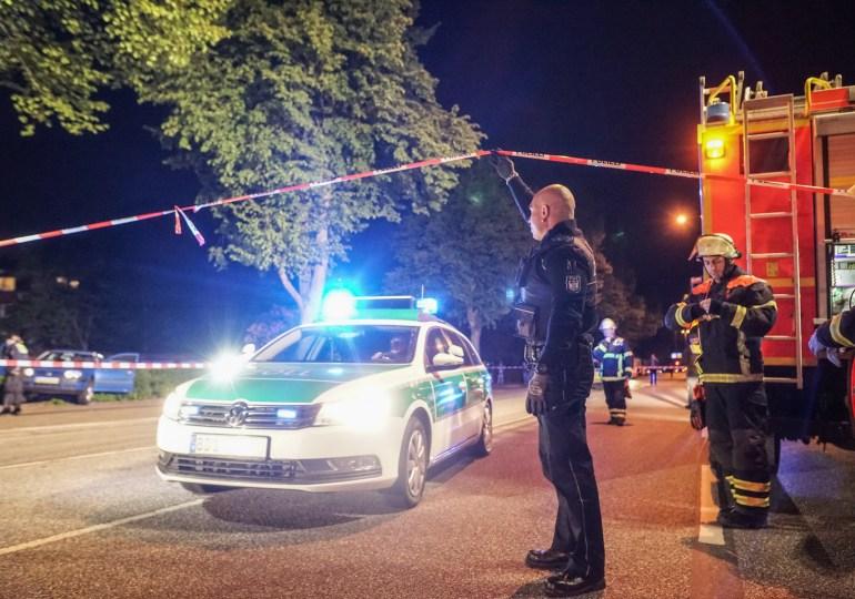 Größerer Polizeieinsatz nach Familienstreit in Hamburg-Billstedt
