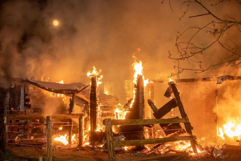 Großfeuer in Norderstedt nahe des Hamburger Flughafens – Werkfeuerwehr muss unterstützen!
