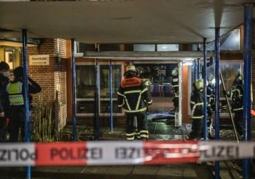 Einbruch und Randale - Feuer in Hamburger Stadtteilschule