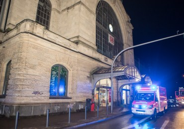Trauriger Zwischenfall am Bahnhof Dammtor - Eine Person von Zug erfasst und getötet