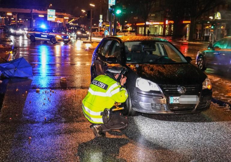 Glück im Unglück: Zwei Personen in Eidelstedt angefahren