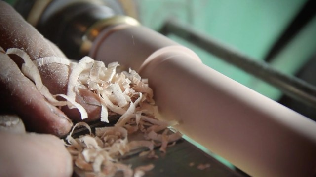 At the Lathe