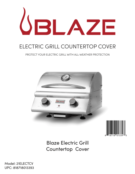 electric grill cover