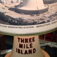 Three Mile Island commemorative lamp