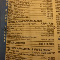 TV's 'Batman' Adam West plays a practical joke in his local phone book