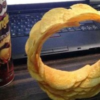 One (P)ring(le) to rule them all: How to make a stacked ring of Pringles