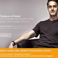 ASL 'hand singer' YouTube sensation, Stephen Torrence, heads to Poland for signing concert