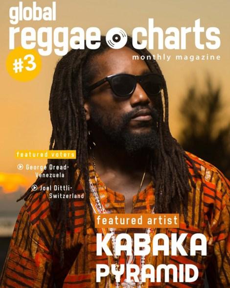 Global Reggae Charts #3 Magazine Cover