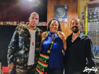 "Jay Z, Sister Nancy, Damian ""Jr. Gong"" Marley"