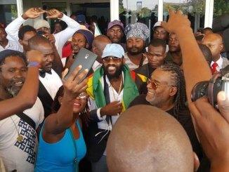 Tarrus Riley & Dean Fraser Arrive In Zimbabwe