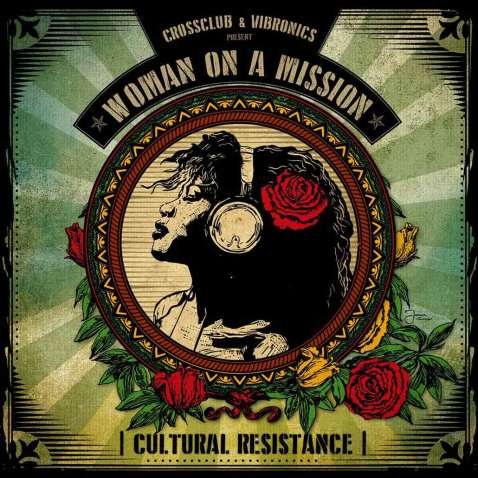 Vibronics Woman On A Mission Album Cover