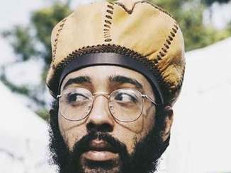 Protoje sporting his Rasta crown.