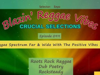 Blazin' Reggae Vibes - Ep. 099 - A Reggae Spectrum Far & Wide With The Positive Vibes Pt. 2