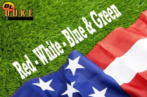 red-white-blue-green