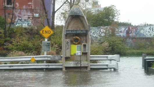 Gowanus Canal after Sandy