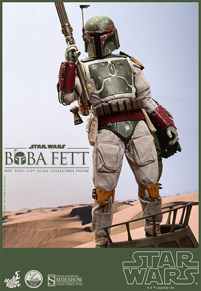 Win A Quarter Scale Boba Fett Figure From Sideshow And Hot Toys