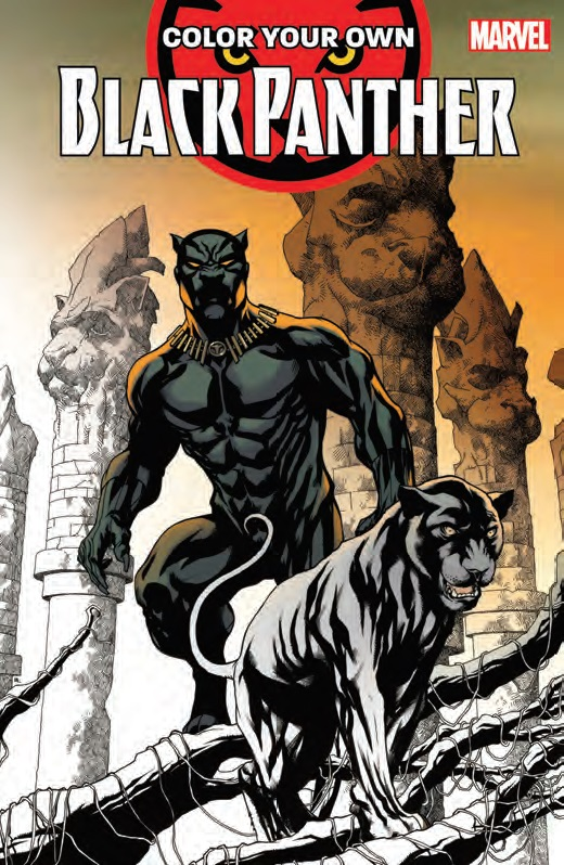 Marvel Coloring Books For 2018: Black Panther, New Mutants, Avengers