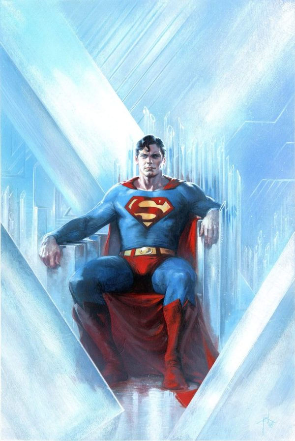 Gabrielle Dell-Otto Variant Cover for Action Comics #1000 with Bulletproof Comics