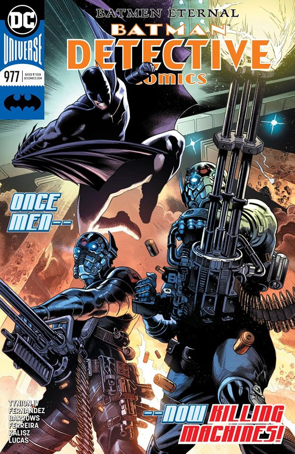 Batman: Detective Comics #977 cover by Eddy Barrows
